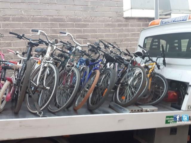Mette in vendita on line biciclette rubate, 39enne romano denunciato dalla polizia di stato.