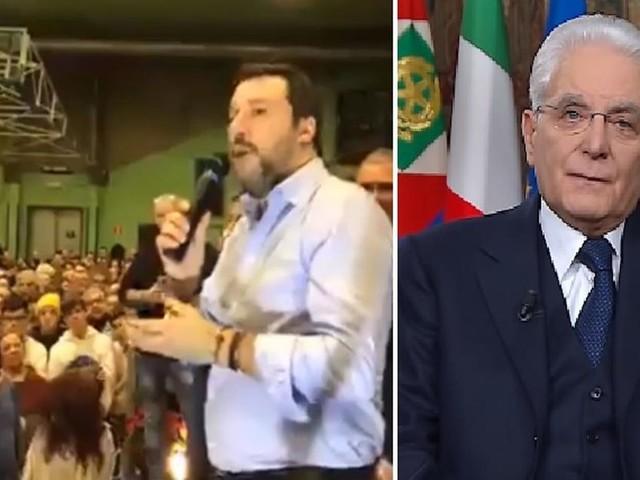 Salvini: 'Il 31 tutti ad ascoltare il discorso di Mattarella', fischi dalla folla (VIDEO)