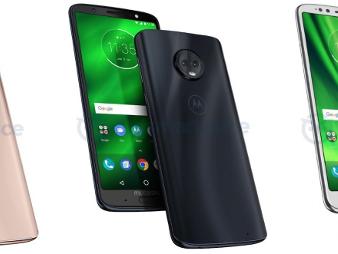 MWC 2018: Scheda tecnica e foto dei Motorola Moto G6, Plus e Play
