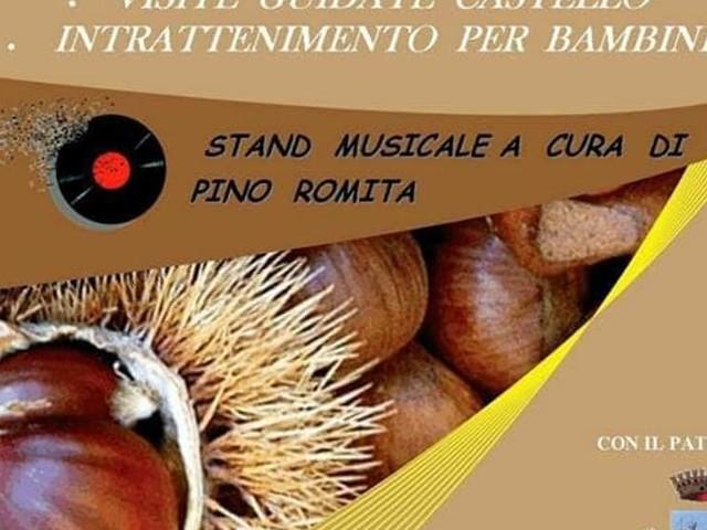 """A Bitritto la """"Sagra della Caldarrosta"""", tanti stand, musica e intrattenimento per grandi e piccini"""