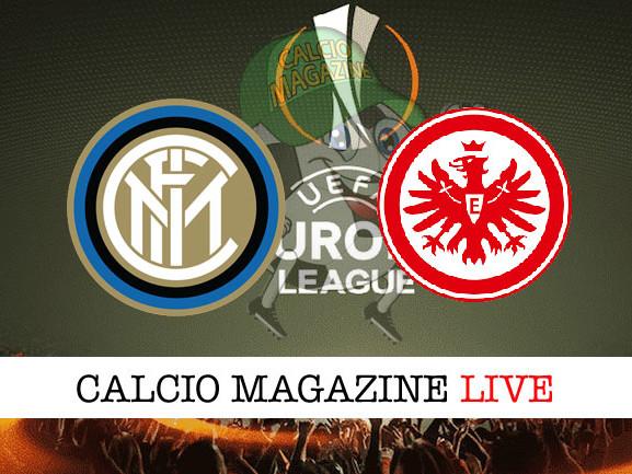 Europa League, Inter – Eintracht Francoforte: le formazioni ufficiali