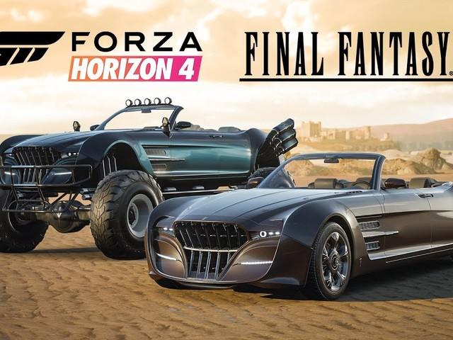 Forza Horizon 4: In arrivo due vetture a tema Final Fantasy XV