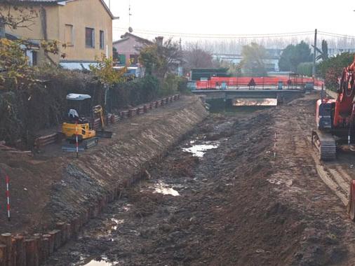 Viadana, riqualifica del canale Sorgive e migliorie al Centro di documentazione