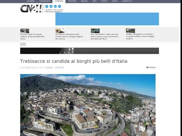 Trebisacce si candida ai borghi più belli d'Italia