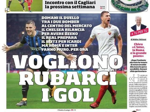 """PRIME PAGINE- """"Sì, Politano vuole il Napoli"""". Gasp: """"Io e Sarri il calcio vero"""""""