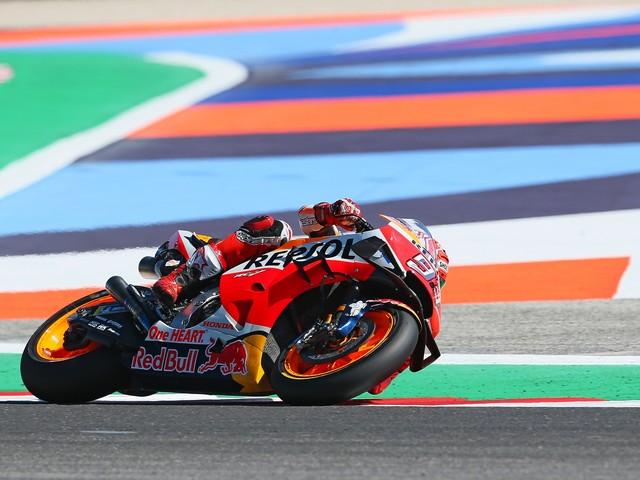 Marquez trionfa a Misano Dovizioso solo sesto Valentino Rossi quarto