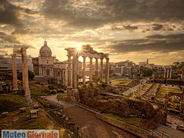 Meteo ROMA: torna bel tempo, con TEMPERATURE in CRESCITA
