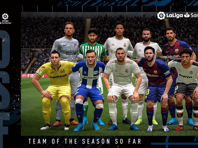 FIFA 20 TOTSSF: disponibile il Team of the Season So Far della Liga spagnola
