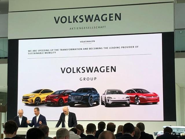 Gruppo Volkswagen - Nuova scossa alle strategie di elettrificazione