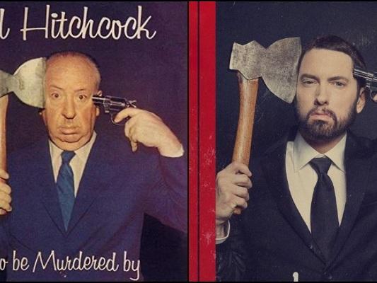Eminem omaggia Alfred Hitchcock con il suo nuovo album: Music to Be Murdered By