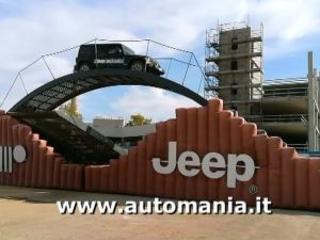 Off Road Jeep Wrangler alla Fiera del Levante