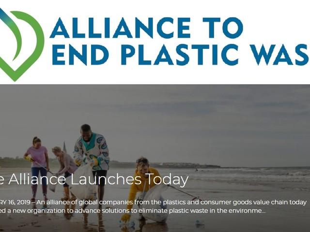 Alliance to End Plastic Waste, le multinazionali contro la plastica dispersa nell'ambiente