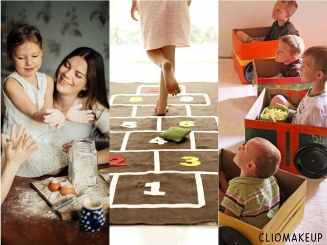 9 attività da fare con i bambini a casa per divertirsi insieme