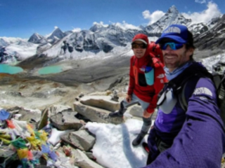 Luis Stitzinger e Manuel Möller in Nepal per la traversata dell'Hongku Chuli