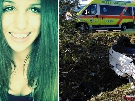 Musile di Piave, auto nel fossato dopo la discoteca: lei muore a 18 anni, lui è in coma