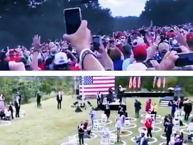 America2020: Sondaggi e immagini. Due mondi e una vittoria