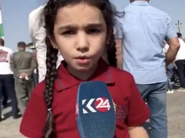 """Crisi siriana, l'appello della bimba curda: """"Fermate questa guerra"""""""