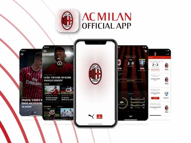 Milan, nuova app gratuita: contenuti esclusivi e diretta streaming delle amichevoli