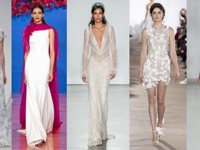 Bridal Fashion Week 2020: 8 tendenze per gli abiti da sposa