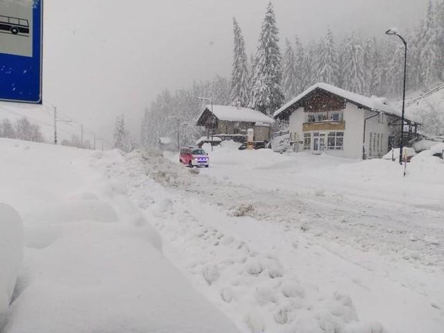 Alto Adige: pre-allarme arancione Si attendono forti nevicate