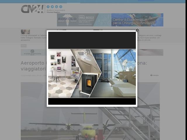 Aeroporto Crotone. Il sistema Ils c'è ma non funziona: viaggiatori dirottati a Lamezia per la nebbia