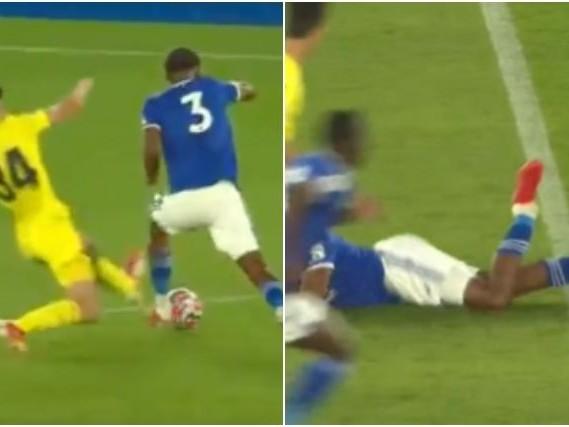 Infortunio shock per Wesley Fofana: fallo terribile durante l'amichevole del Leicester