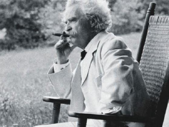 """Mark Twain? Con la sua ironia voleva mandare tutto in """"fumo"""""""