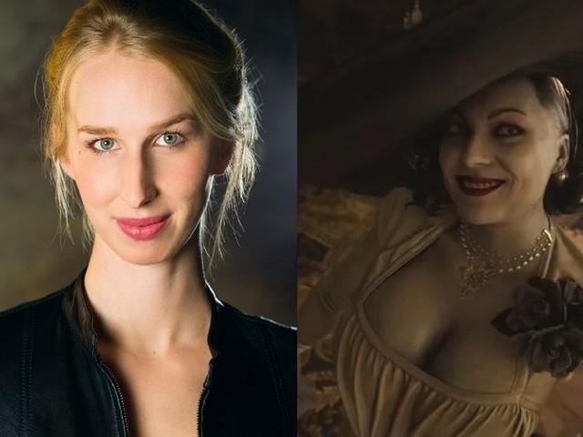 Resident Evil Village ecco l'attrice che presta voce e 'corpo' all'amata Lady Dimitrescu