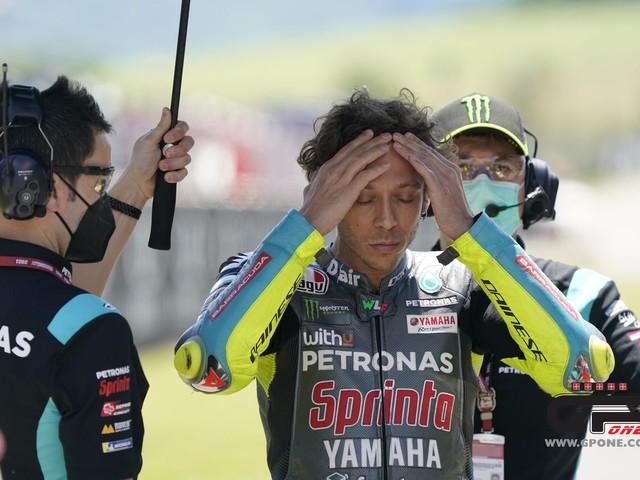 Valentino Rossi: l'avanzata dei giovani in MotoGP lo costringe al ritiro