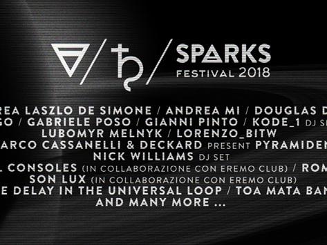 Putignano: Sparks festival, da stasera Fino a domenica