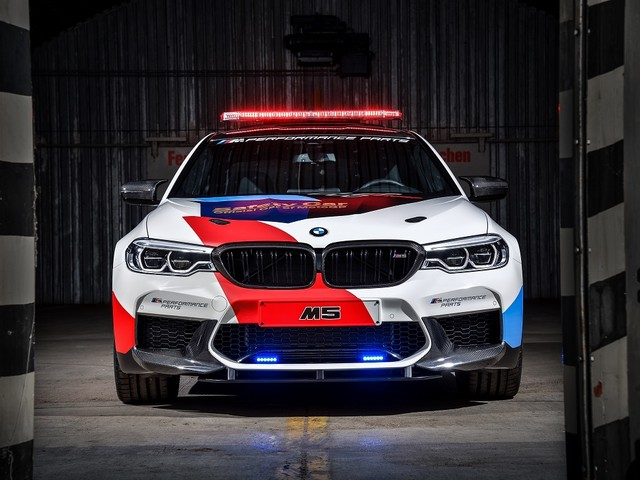 BMW M5 xDrive, la Safety Car della MotoGP
