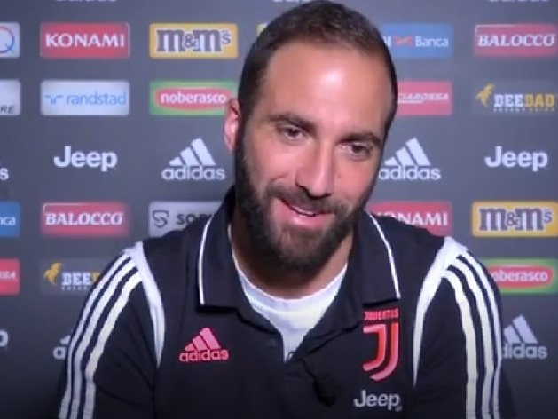 """Higuain: """"Volevo solo la Juve. La Champions? È bellissima"""""""