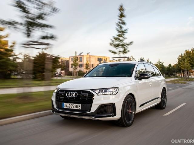 Audi Q7 - In arrivo le versioni 55 e 60 plug-in hybrid