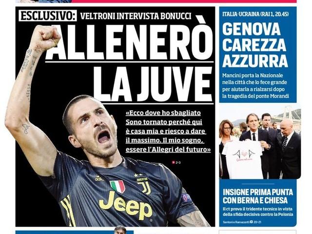 Corriere dello Sport – Moratti: Vedo bene Marotta all'Inter