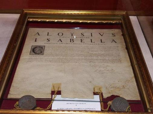 """Fondazione Gonzaga, beni all'asta. Anzi no. Soprintendenza: """"Restano a Sabbioneta"""""""