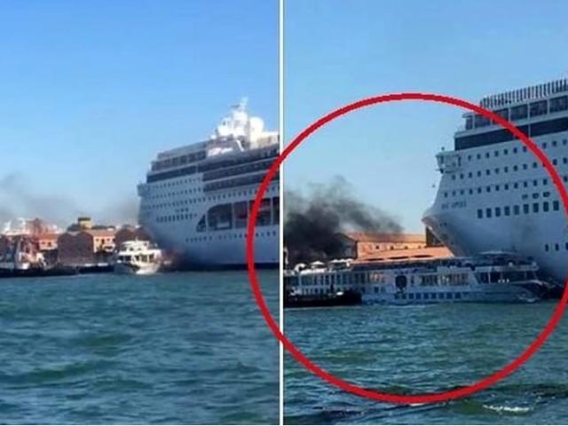 Basta grandi navi a Venezia, incompatibili con città e laguna
