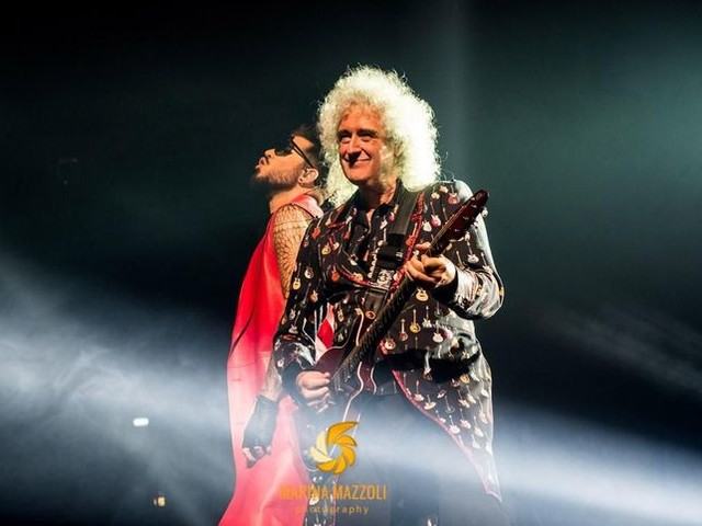 Queen + Adam Lambert, il primo giorno di prove del tour: foto