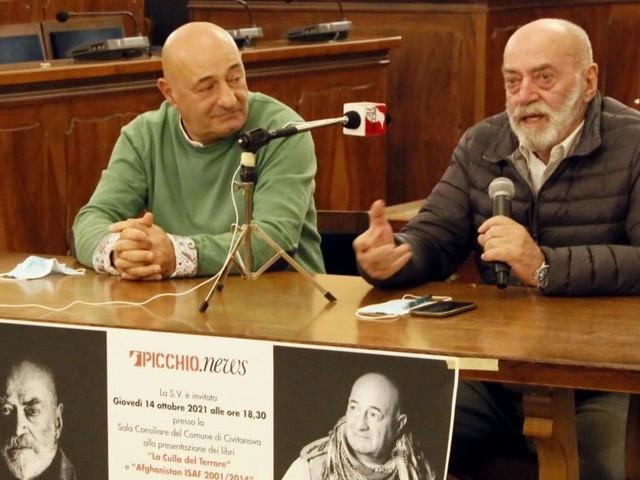 I ricordi di guerra di Capuozzo e Picchio: presentati a Civitanova due libri sull'Afghanistan