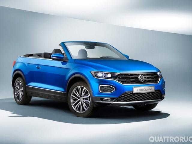 Volkswagen - La T-Roc diventa Cabrio