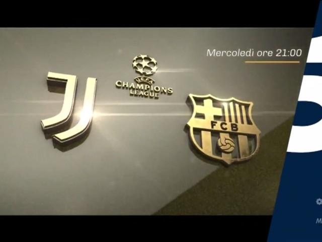 Champions, Juventus - Barcellona Diretta   Canale 5 Telecronisti Sport Mediaset