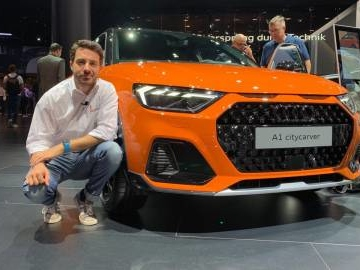 Audi A1 Citycarver, in video dal Salone di Francoforte 2019