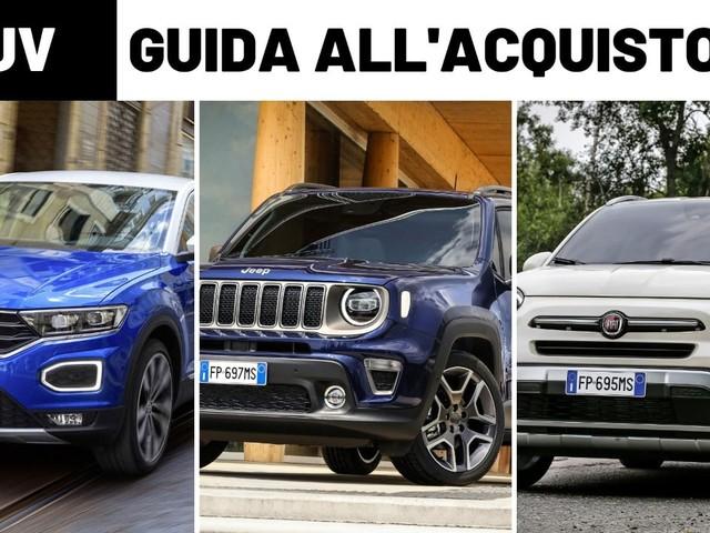Suv compatte - Volkswagen T-Roc vs Fiat 500X vs Jeep Renegade