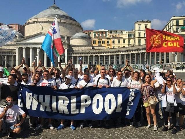 Whirlpool: sciopero a Napoli il 31 ottobre