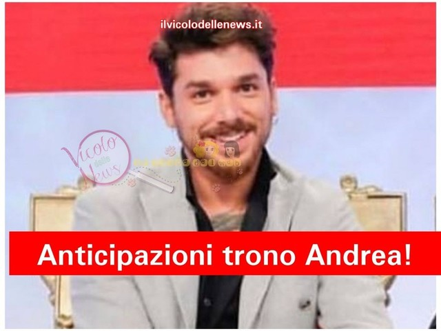 Anticipazioni Uomini e Donne – trono di Andrea Cerioli: la bat-talpa aggiunge succosi dettagli alla registrazione del 07.12.18