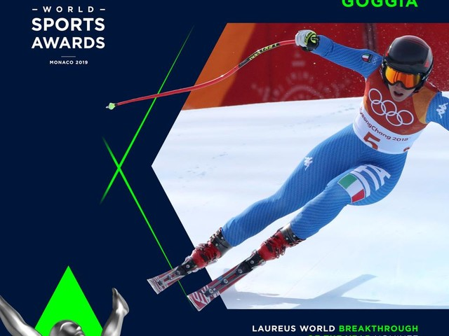 Sport: Laureus Awards, a Sofia Goggia nomination come rivelazione dell'anno