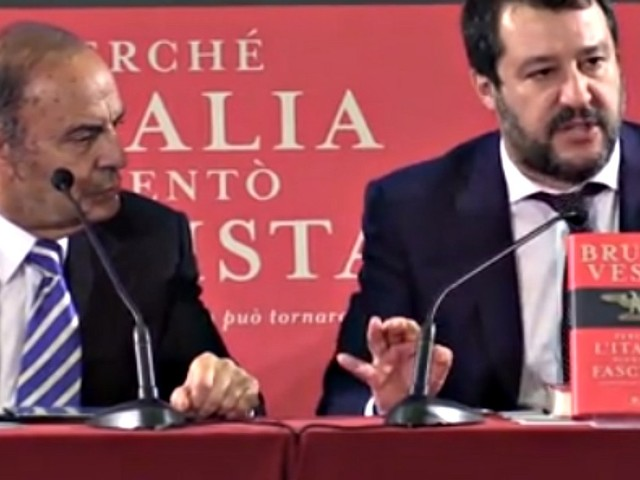 """Biella, Salvini: """"Segre? Fosse stato per me le avrei dato la cittadinanza. Senatrice portata in giro e usata per fare misera battaglia politica"""""""