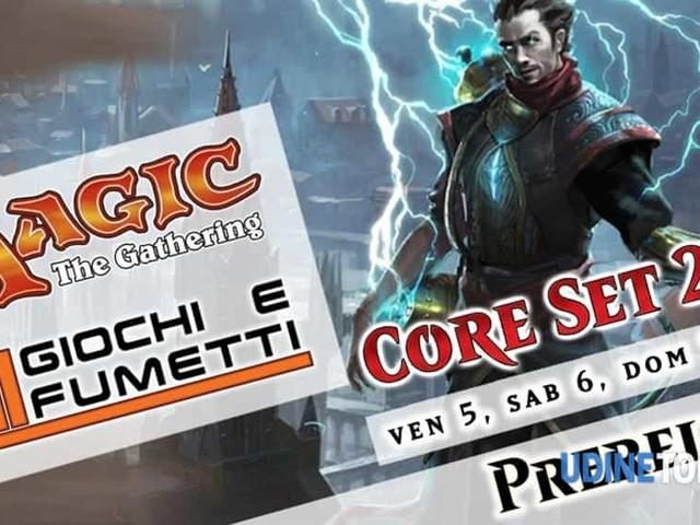 """Pre-release magic set base 2020 da """"AM giochi e fumetti"""""""