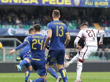 Il Torino si butta via: avanti 3-0 a Verona, si fa rimontare in 15 minuti