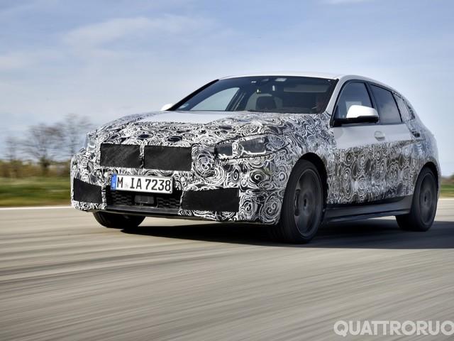 BMW Serie 1 - Al volante del prototipo