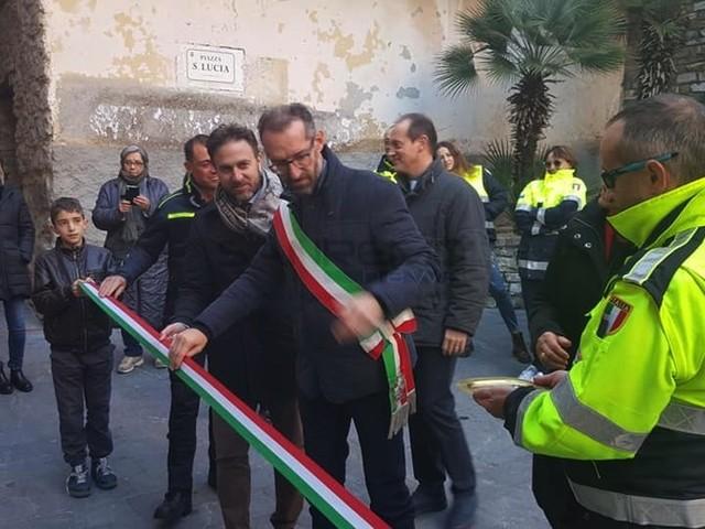 Cesio: inaugurata la nuova sede della Protezione Civile, punto di riferimento per le valli (Foto)